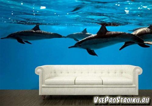 3D фотообои на стену