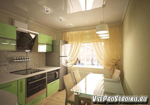 Кухня 12 кв м - планировка