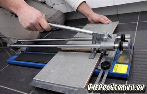 Ручной плиткорез-будет ли резать керамогранит