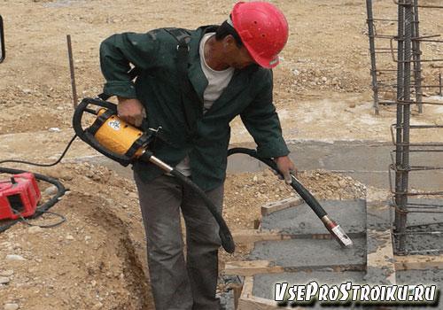 Самодельный вибратор для бетона