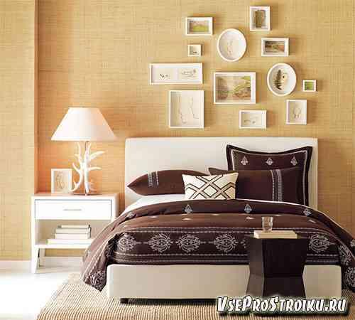 Как красиво разместить фотографии на стене?