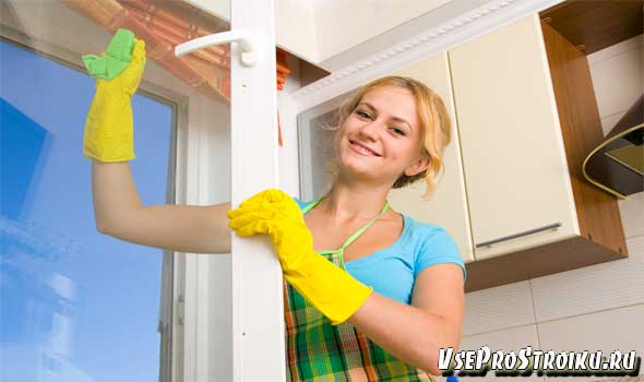 Как помыть окна