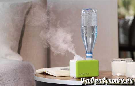 Увлажнение воздуха в домашних условиях