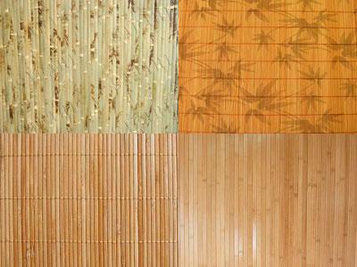 Фото бамбуковых обоев