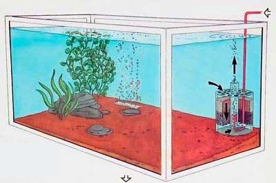 Внутренние фильтры для аквариумов