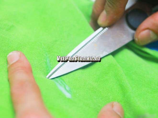 Как вывести супер клей «Момент» с одежды