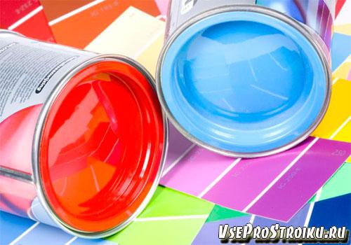 Как сделать фиолетовую краску из красного и синего цвета