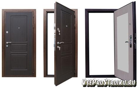 Стандартные размеры входных дверей с коробкой