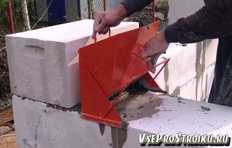 Расход клея для газосиликатных блоков на 1м3