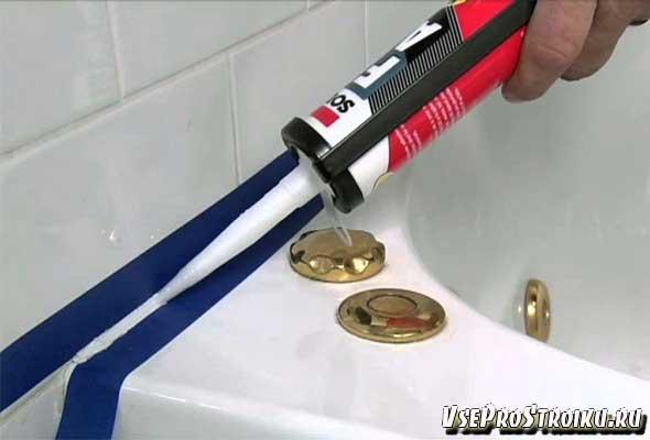 Оригинальный способ, как пользоваться силиконовым герметиком