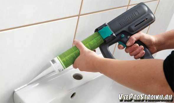 Что собой представляет пистолет для герметика