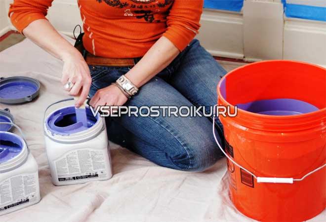Можно ли разбавлять акриловые краски водой